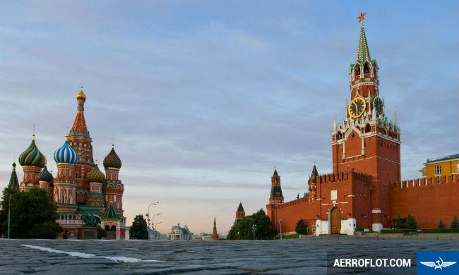 ve may bay di moscow hang aeroflot