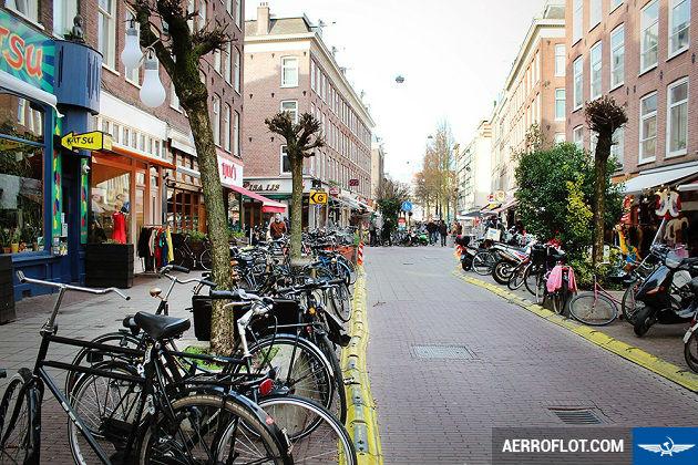 ve may bay di amsterdam