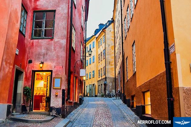 ve may bay gia re di stockholm