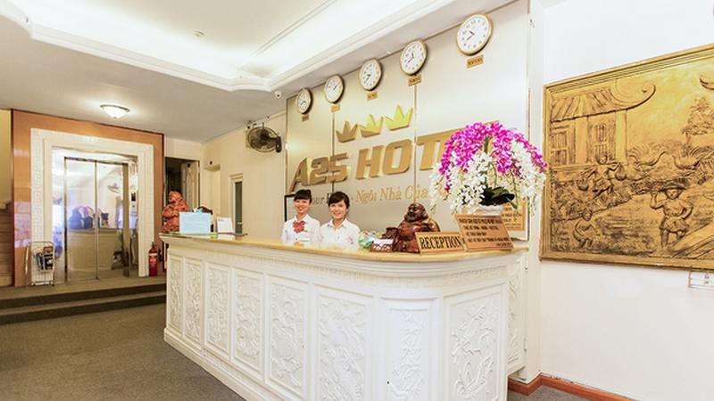 Khách sạn A25 35 Mạc Thị Bưởi