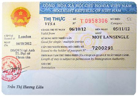 Xin visa du lịch VN - Cập nhật 2021