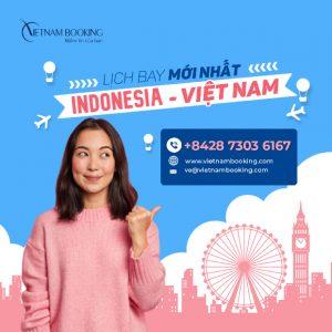 Vé máy bay từ Indonesia về Việt Nam tháng 5
