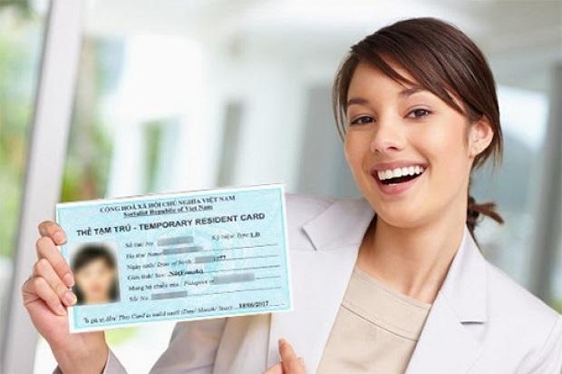 Dịch vụ làm thẻ tạm trú cho người nước ngoài trọn gói, giá tốt