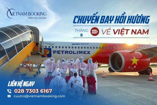 Vé máy bay từ Bulgaria về Việt Nam | Lịch bay tháng 8