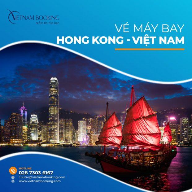 Vé máy bay từ Hong Kong về Việt Nam
