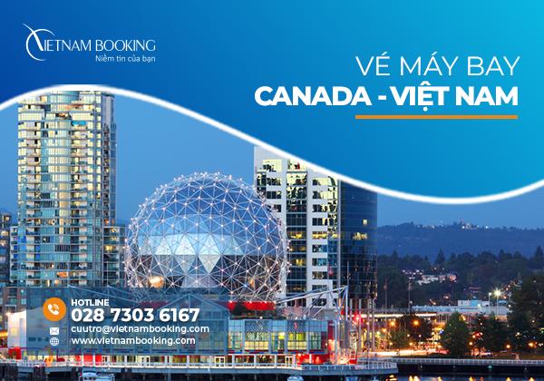 Vé máy bay từ Vancouver về Đà Nẵng được khởi hành trong tháng 7