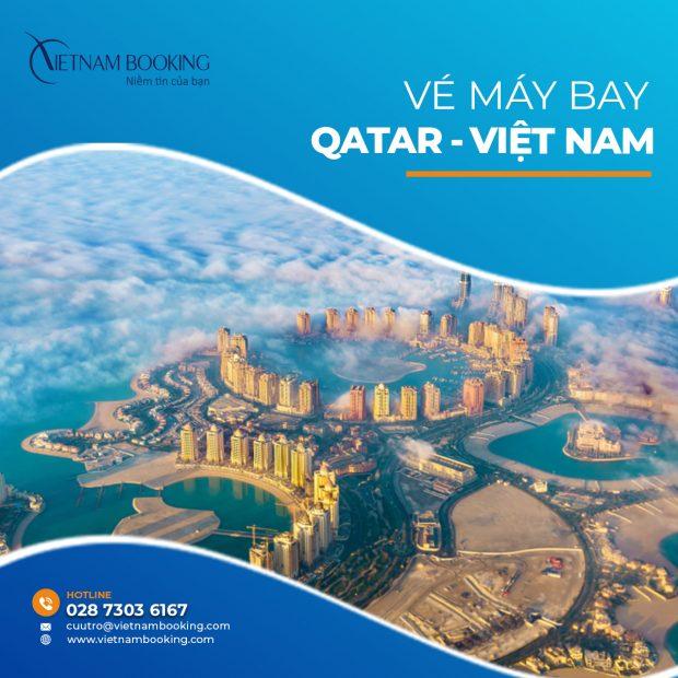 Vé máy bay từ Qatar về Việt Nam