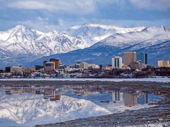 Alaska - vùng đất thiên nhiên diệu kỳ của nước Mỹ có tuyết quanh năm