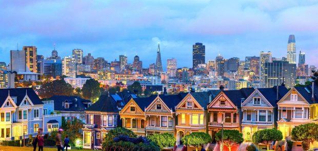 Thị trấn căn hộ nhộn nhịp ở San Francisco nước Mỹ