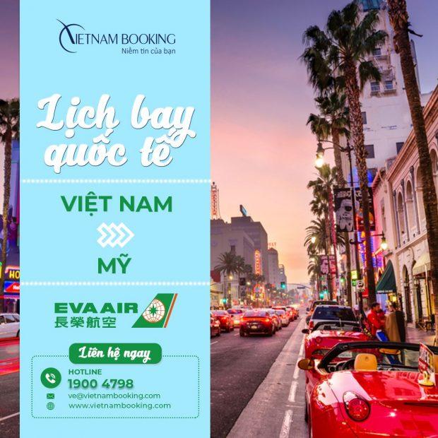 Vé máy bay từ Việt Nam đi Mỹ